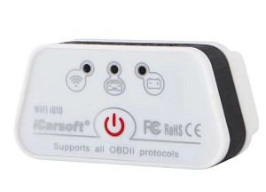 1996+ iCarsoft WiFi i610 OBDII Multi-Scan Tool