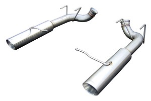 2011-2014 Ford Mustang V6 Pypes Performance Pype-Bomb Axle-Back Exhaust System w/ Tip Finish Options
